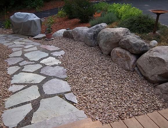 Shoreline Restoration Erosion Control Retaining Walls Boulder Walls Paver  Patios Paver Walkways Paver Driveways Decorative Rock ...